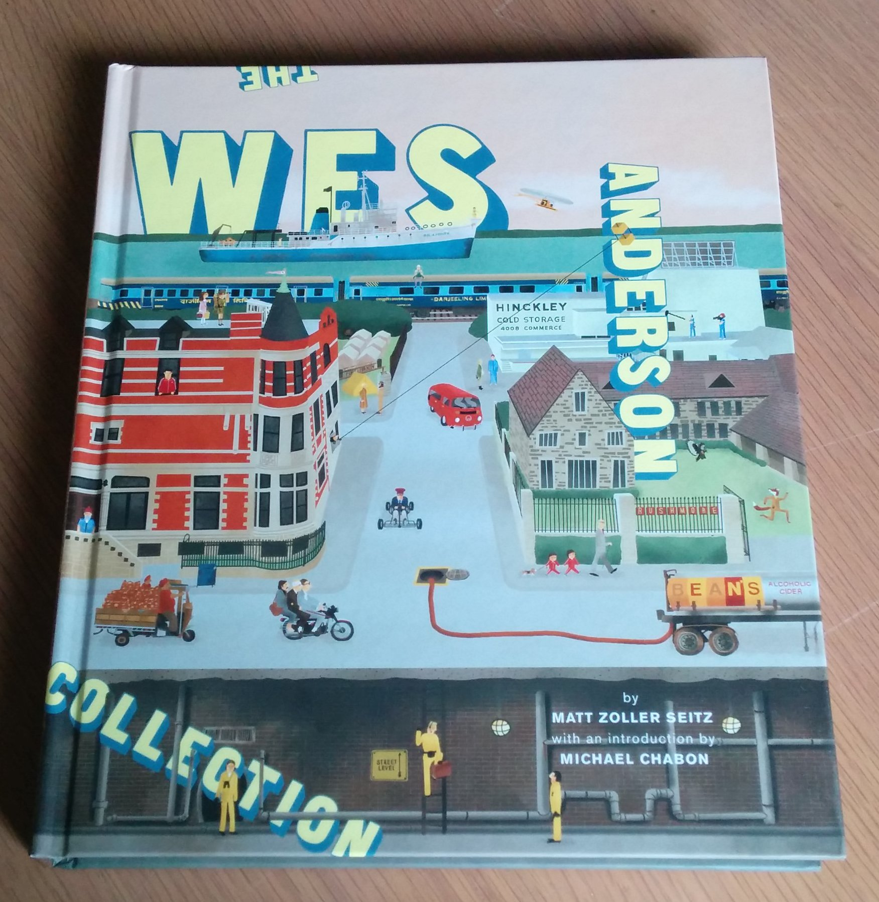 Coffee table books my five current favourites david shrive - Wes anderson coffee table book ...